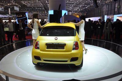 Fiat 500 coupe by Zagato