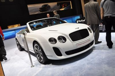 Bentley Continental GTC Supersport ISR