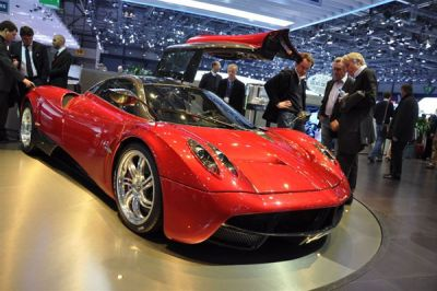 10 supercars au salon de Genève