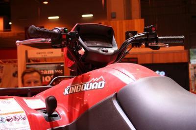 Suzuki Kingquad 750 : l'efficacité pour tous