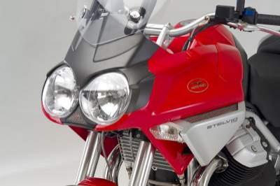 Moto GUZZI Stelvio 1200 : la vision latine du trail routier