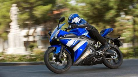 Yamaha YZF-R 125 : gène de sportive