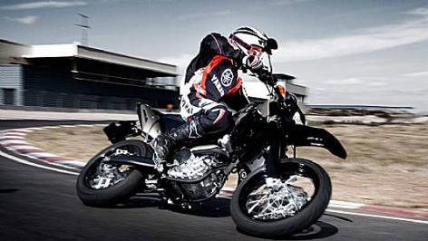 Yamaha WR 250 X : pour la glisse