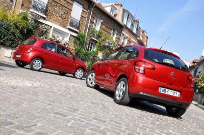 Essai comparatif Citroën C3 / Nissan Micra
