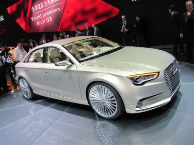 Audi A3 e-tron concept Shanghai