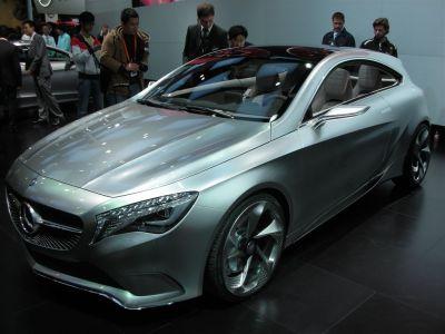 Mercedes Concept A Shangai