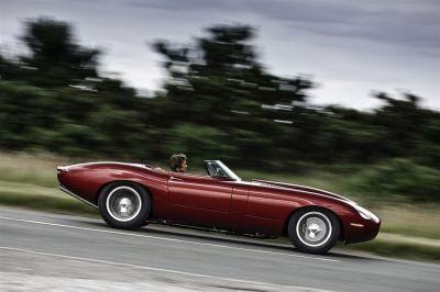 Jaguar Type-E Lightweight Speedster