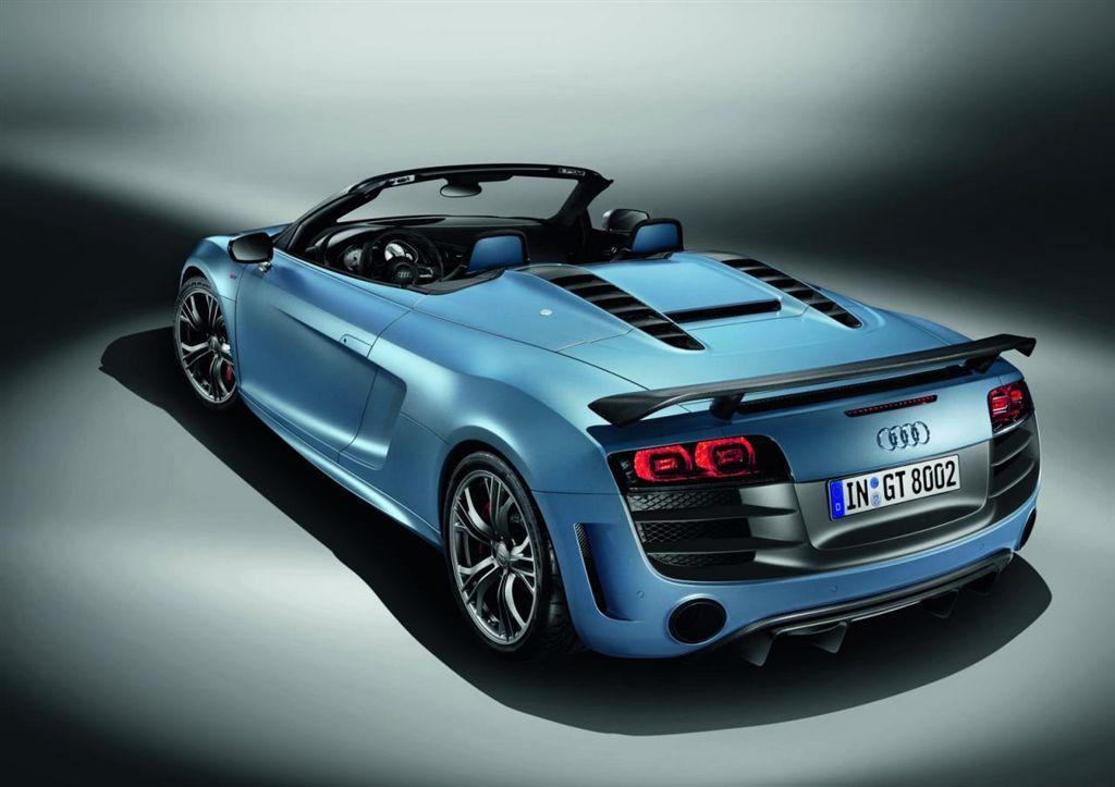 Audi R8 GTS Spyder