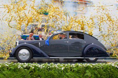 Concours d'Elégance de Pebble Beach 2011 : La plus belle est française