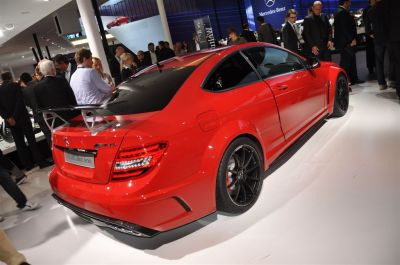 Mercedes C Coupe 63 AMG Black Series