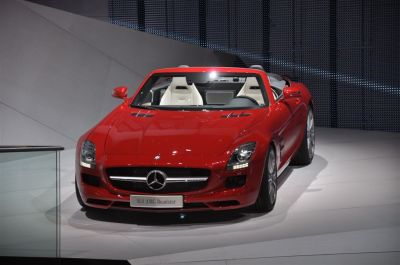 Mercedes SLS AMG Roadster