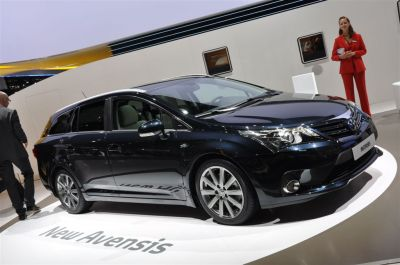 Toyota Avensis restylee