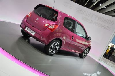 Renault Twingo restylee