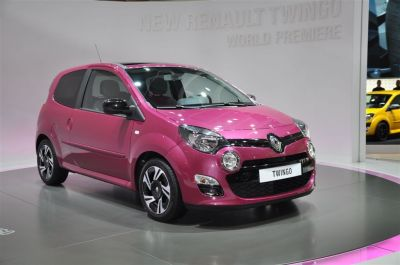 Renault Twingo restylee