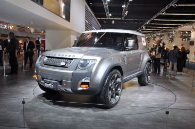 Land Rover DC100 Concept