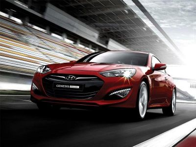 Hyundai Genesis Coupe restyle