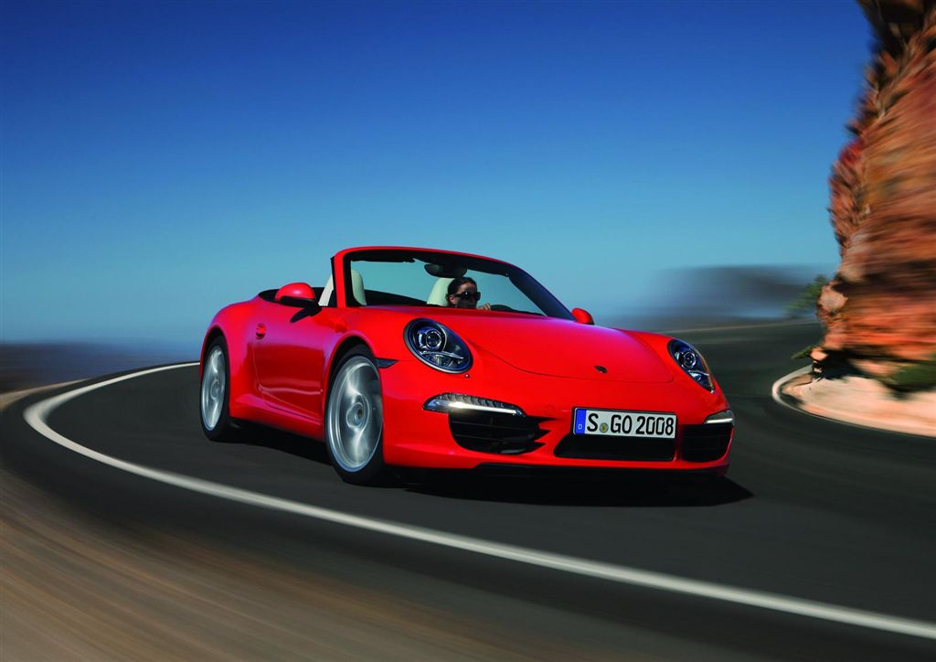 Porsche 911 Cabriolet 2012