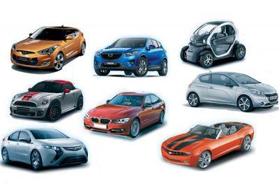 Qui sera la plus belle voiture de l'année 2011 ?