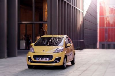 Peugeot 107 restylage