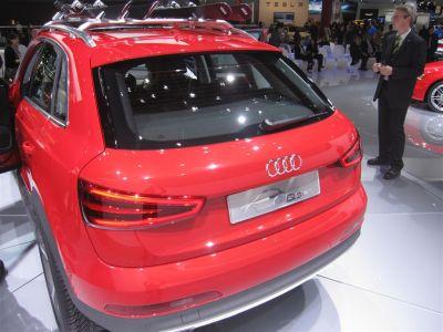 Audi Q3 Vail live