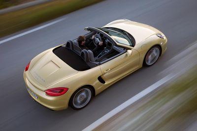 Porsche Boxster et Boxster S 2012