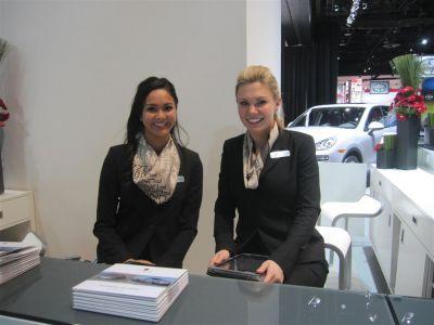 Les hôtesses de Detroit 2012