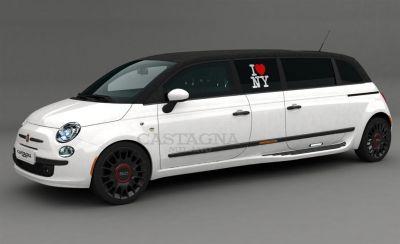 Fiat 500 limousine Castagna