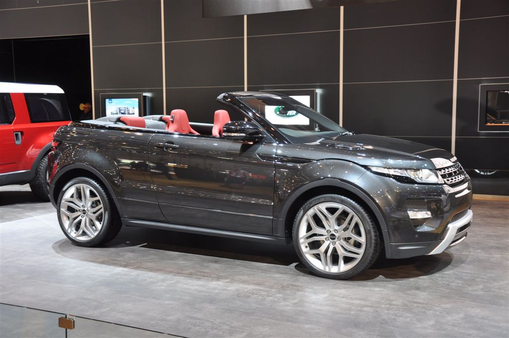albums photos range rover evoque cabriolet. Black Bedroom Furniture Sets. Home Design Ideas