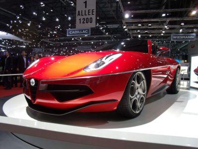 Touring Carrosiera Superleggera Disco Volante