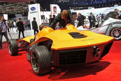 Delphi Sbarro Concept F1 for 3