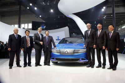 Daimler-BYD Denza EV concept