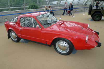 Surprise à l'Amicom 2012 : des autos de collection exceptionnelles