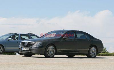 Scoop Mercedes Classe S 2013