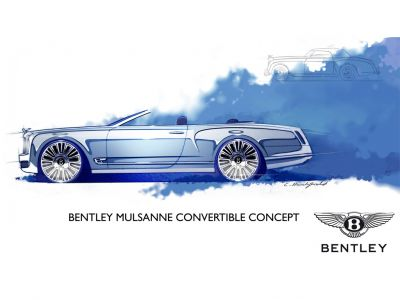 Bentley Mulsanne Cabriolet Concept