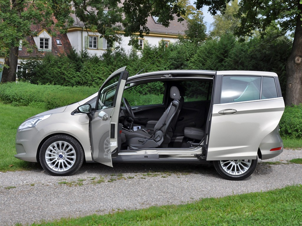 albums photos ford b max 1 6 tdci 95 titanium. Black Bedroom Furniture Sets. Home Design Ideas