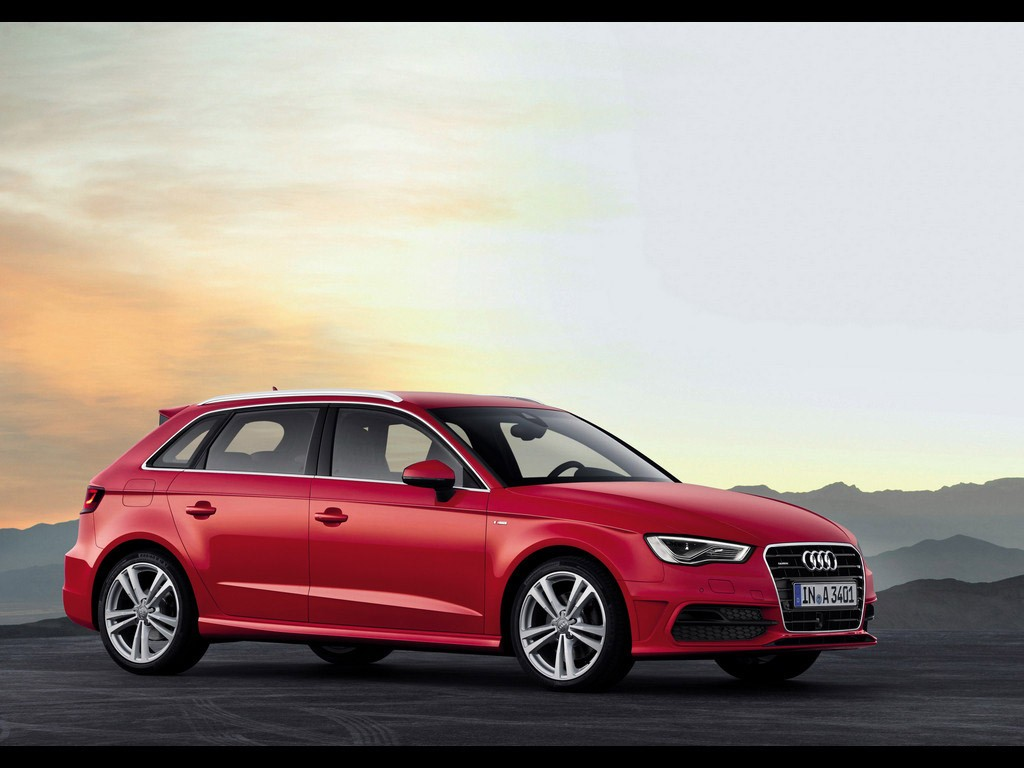 albums photos audi a3 sportback 2013. Black Bedroom Furniture Sets. Home Design Ideas
