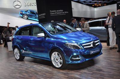 Mercedes B e-Cell
