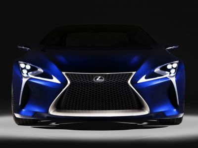 Lexus LF-LC Concept bleu