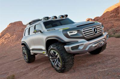 Mercedes Ener G Concept