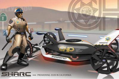 Le salon de Los Angeles imagine la voiture de police du futur