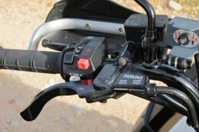 MXU 550 EX, le baroudeur chic et choc de Kymco !