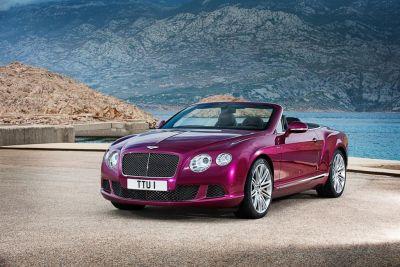 Bentley Continental GT Speed Convertible