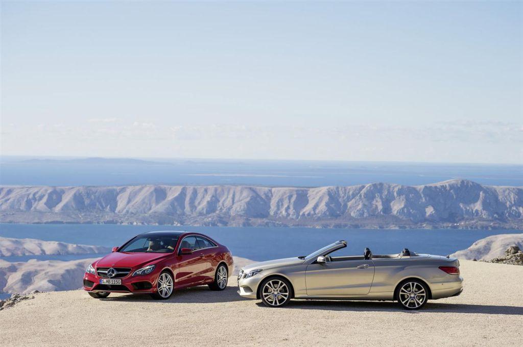Mercedes Classe E Coupé et Cabriolet restyles