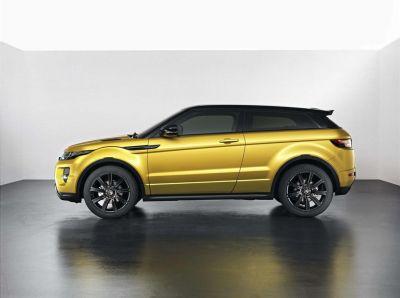 Range Rover Evoque Jaune Sicile