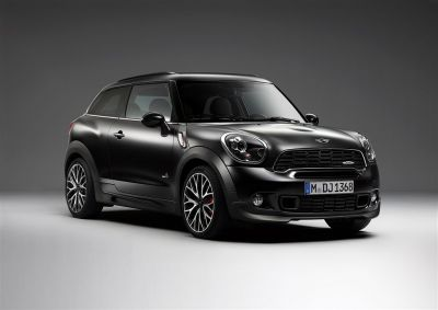 Mini Paceman et Countryman Frozen Black