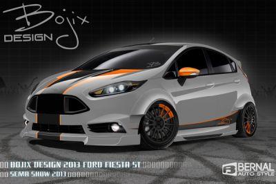 Les modèles exotiques Ford du SEMA Show 2013