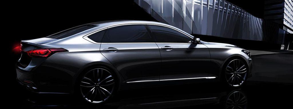 Nouvelle Hyundai Genesis
