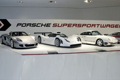 60 ans de super-sportives au musée Porsche
