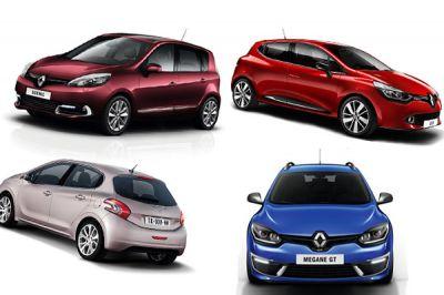 Les 10 modèles les plus vendus en 2013