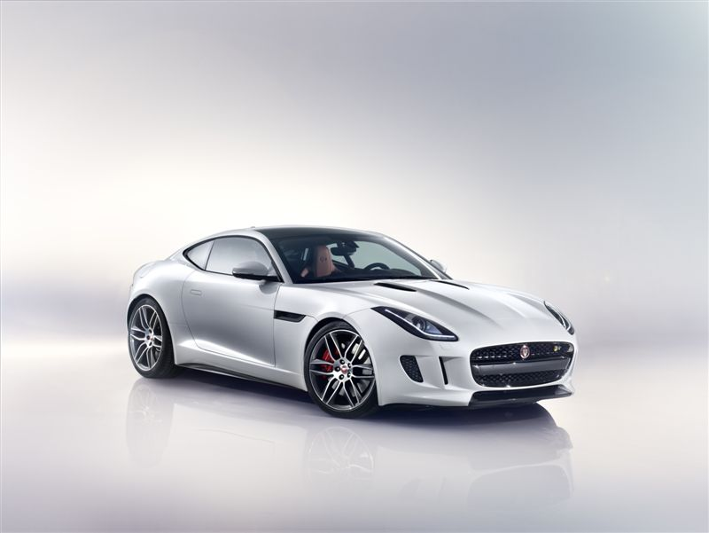 Jaguar F-Type Coupé (Officiel)